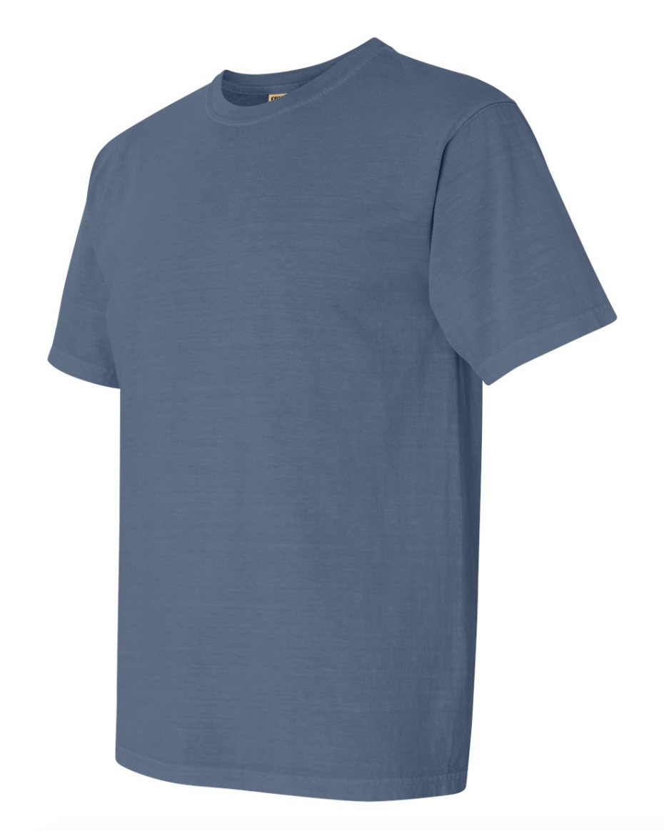Comfort Colors t-shirt - This is a classic dad's weekend item. Great to wear during the day and its a piece of clothing you dad (and you) will cherish for years to come.