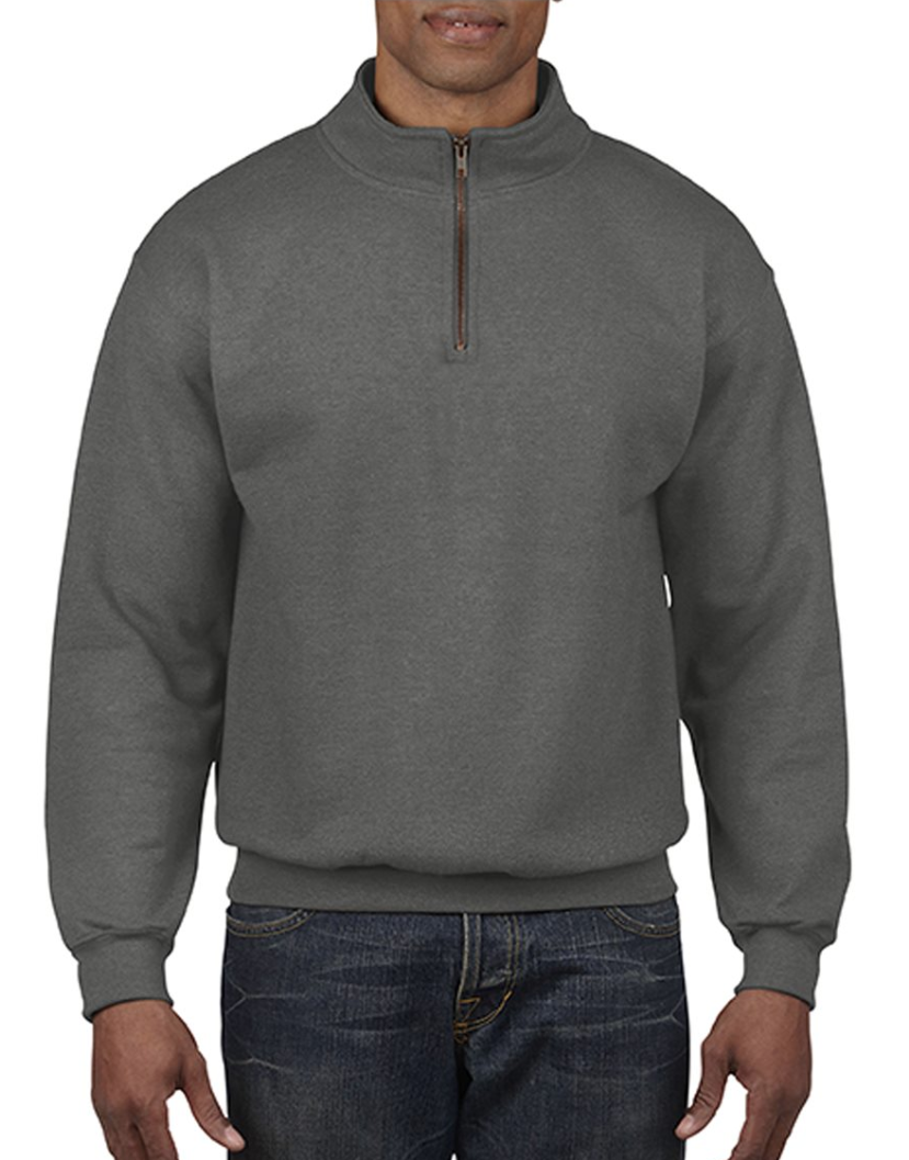 Quarter Zip - Now that it's fall the weather is getting a little colder. A quarter zip is the perfect piece of clothing to throw on over your t-shirt when it starts to feel a little chilly.
