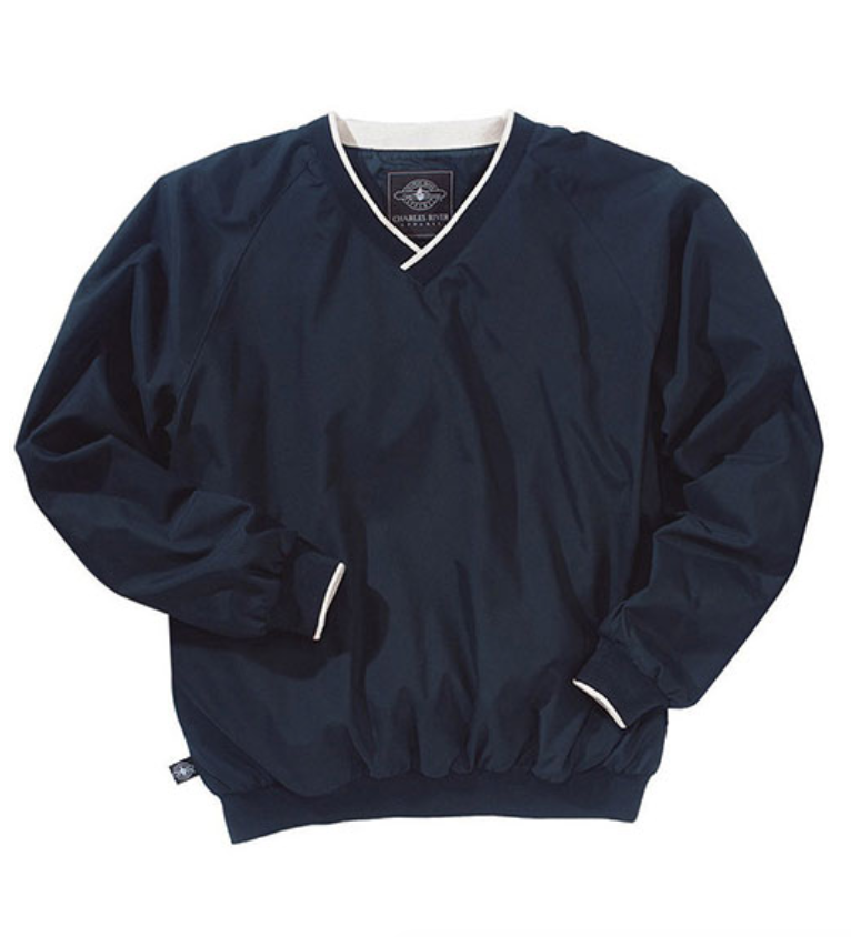 Charles River Windbreaker - Last but not least, a windbreaker. These are great to wear to block or the football game. They are a little different than your average jacket and look great on!