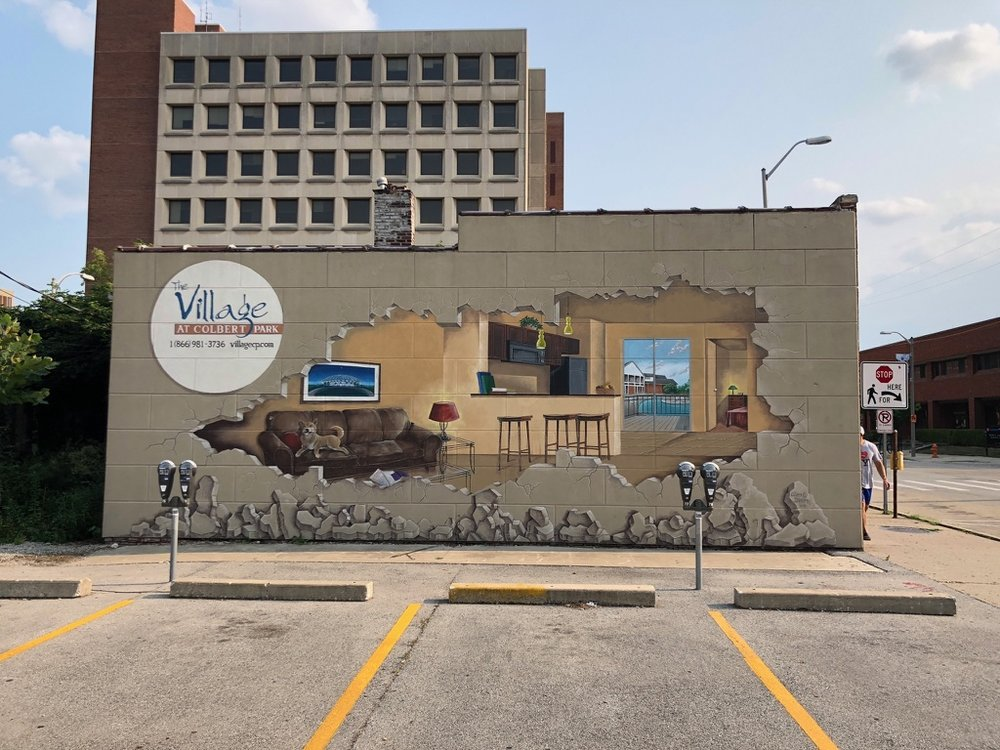 Space for new mural