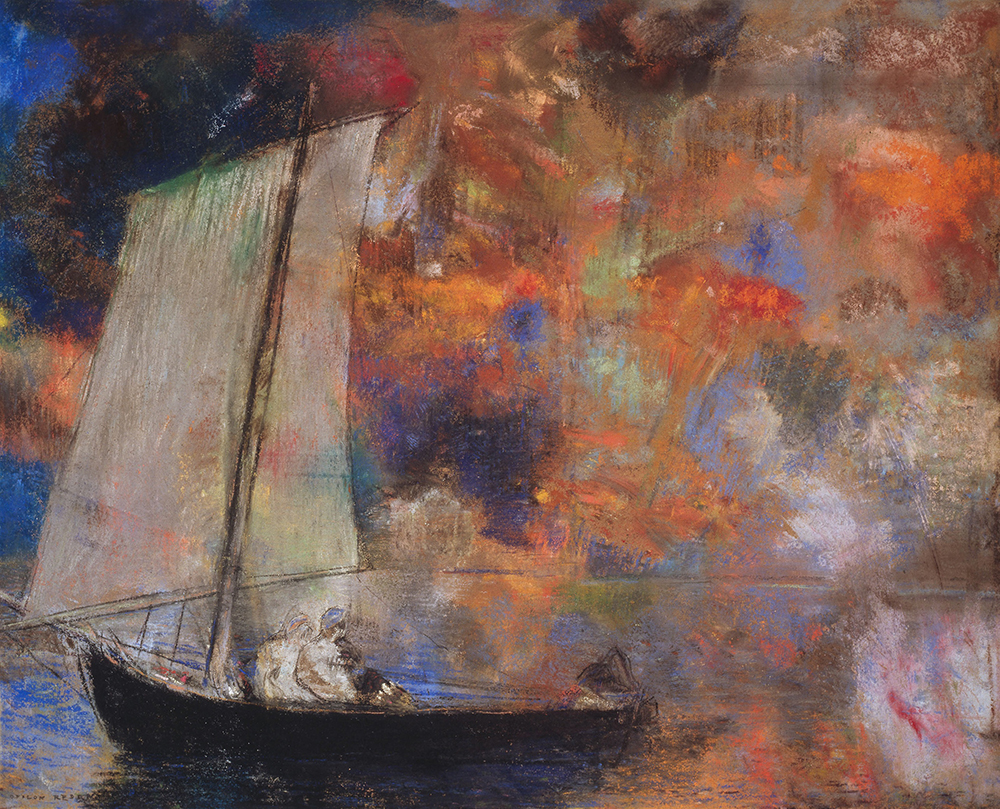 Flower Clouds — Odilon Redon — Spitting Image Gallery