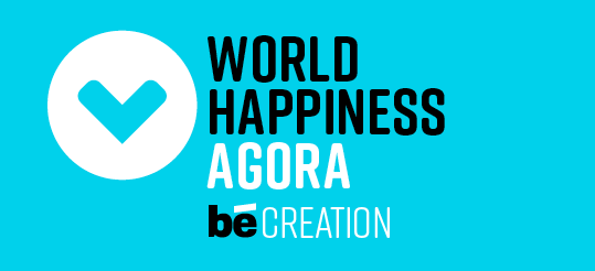 World Happiness Agora Blue
