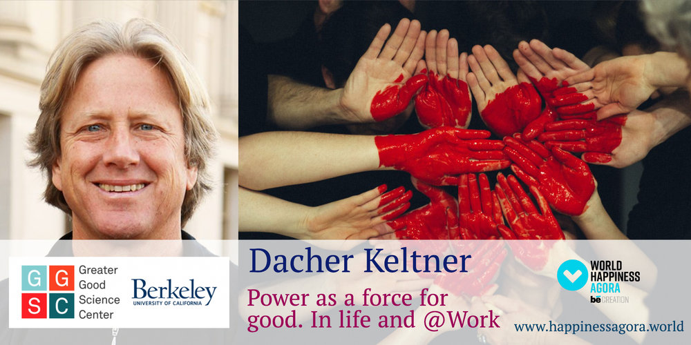 beShop- Dacher Keltner - World Happiness Agora