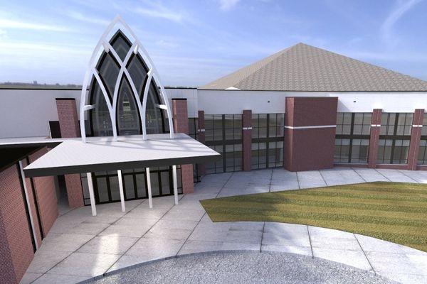 Quail Springs Baptist Church, Phase 5  Lippert Bros
