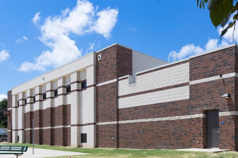 Heronville Elementary School Safe Room Gym  SGS Design Builders