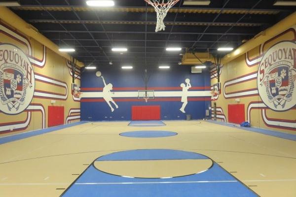 Sequoyah Elementary School Safety Room Gym  Shiloh Enterprises