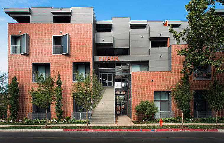 The Frank Apartments  Lingo Construction