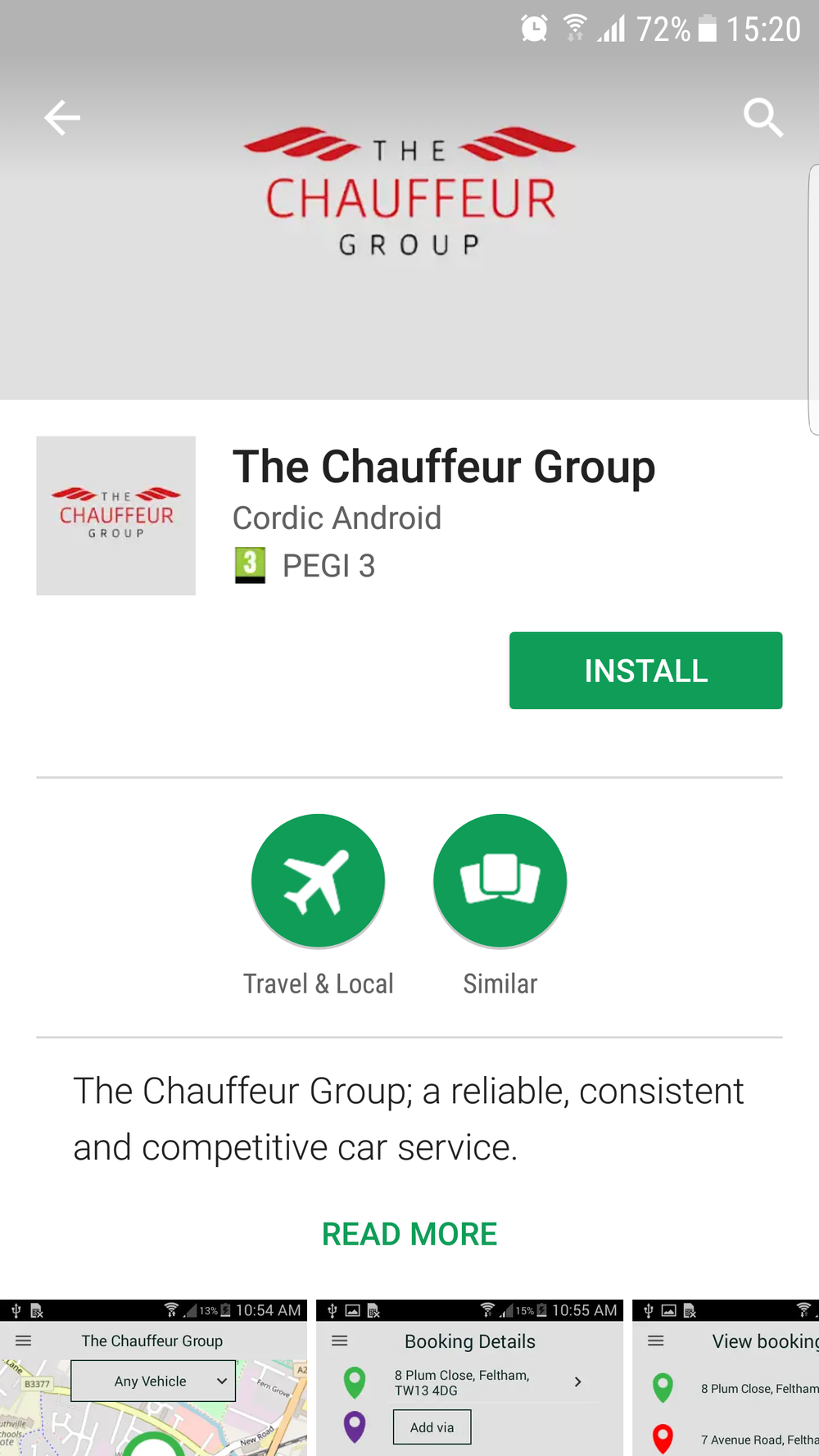Manage Executive Car Booking with App