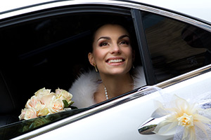 Wedding Car Close