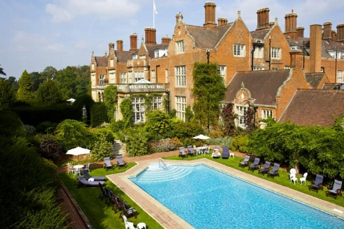Chauffeur to Tilney Hall Hotel