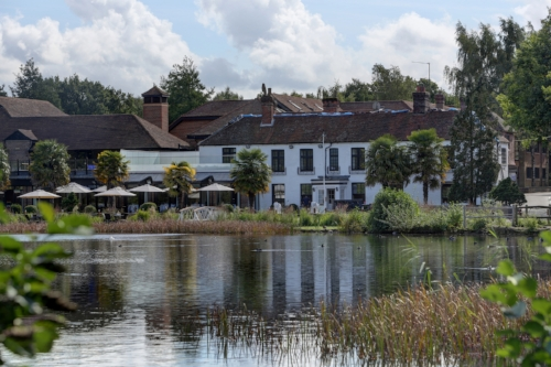 Chauffeur to Frensham Pond Hotel