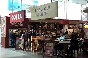 Eating at Southampton Airport