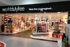 Shopping at Southampton Airport