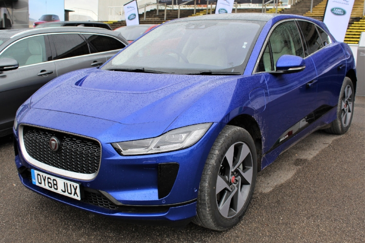 Jaguar iPace All-electric