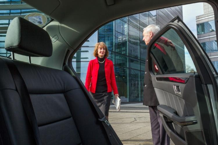 Welcoming Chauffeur Executive Car