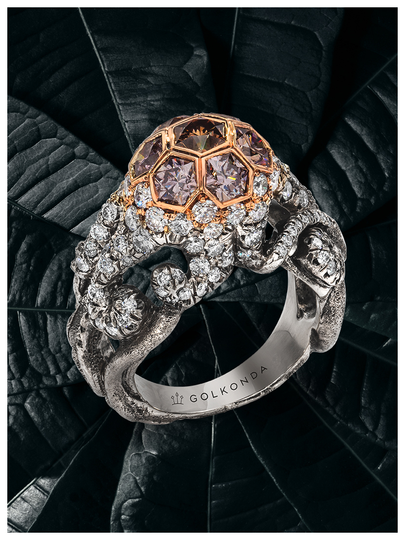 Octopus Ring Silver