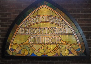 Stained Glass from First United Presbyterian Church