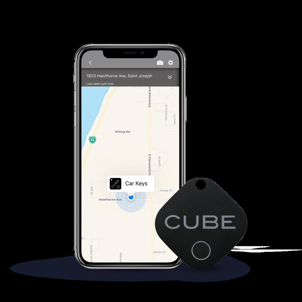 Cube - Notre Cube de première génération avec un revêtement en caoutchouc durable.