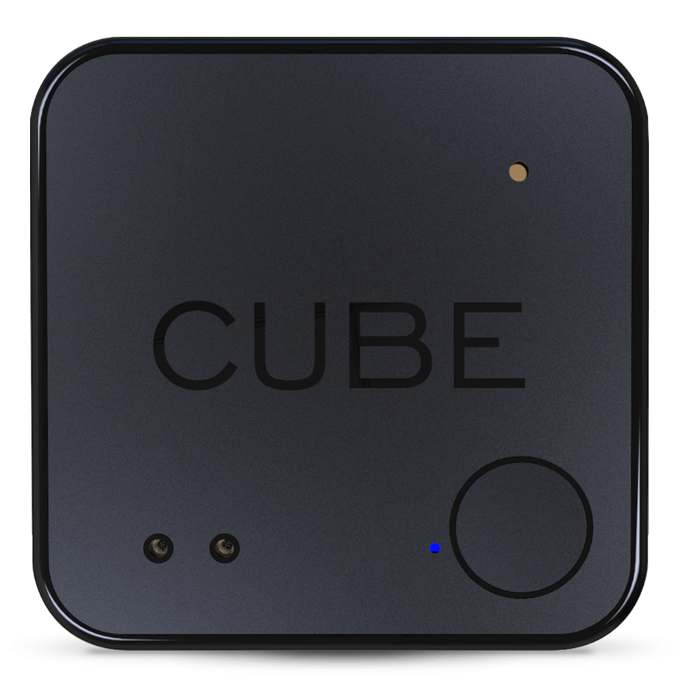Cube Shadow - Our ultra thin bluetooth tracker. Place it in your wallet, stick it to your tablet, laptop, and more.