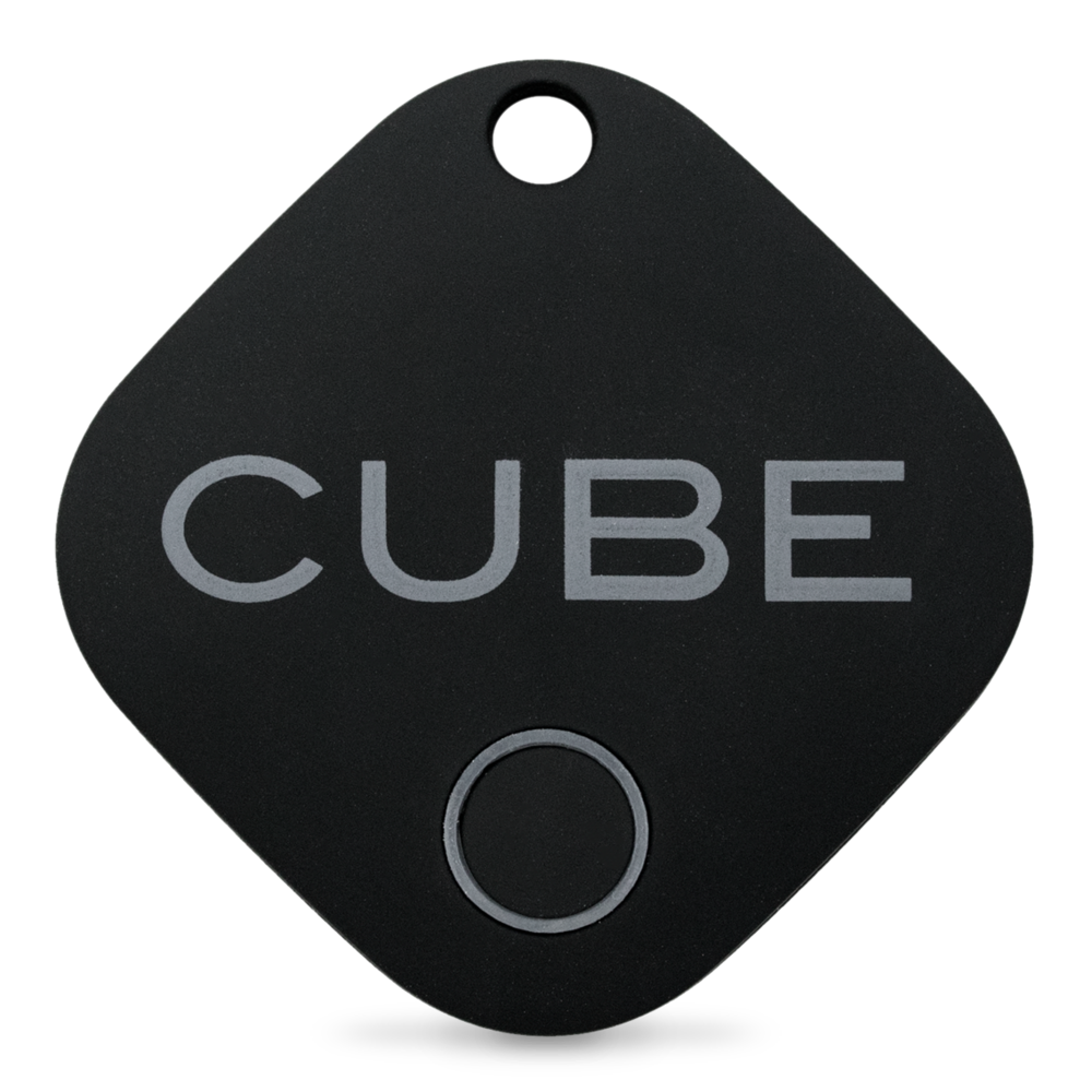 Cube Tracker - Our first generation Cube with a durable rubber coating.