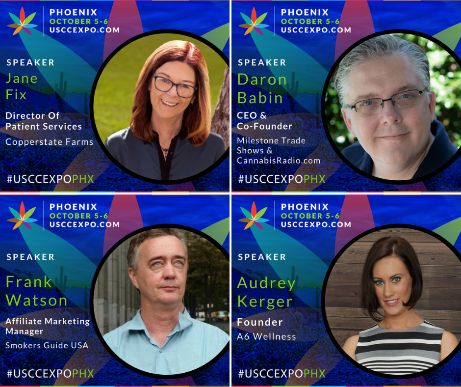 Speaker Collateral - If you will be speaking at the U.S. Cannabis Conference + Expo, we have created a social media graphic with your headshot, name, title and company.Click on the button below to find the Google folder with your name.