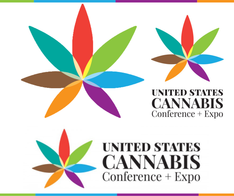 Logo Elements - Click on the button below to download all versions of the U.S. Cannabis Conference + Expo logo.
