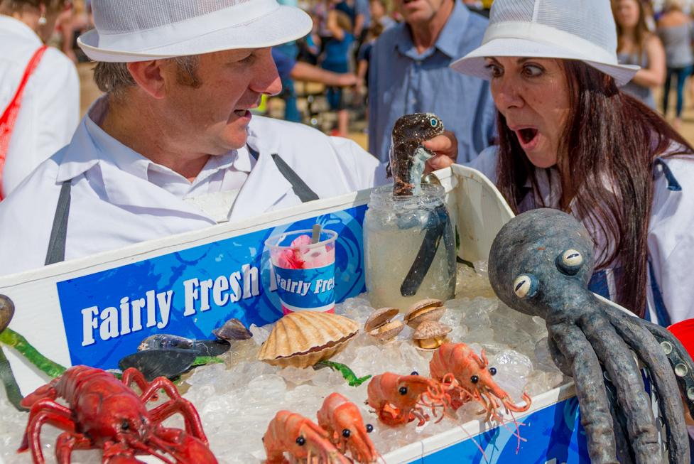 Puppetry - Fairly Fresh Fish!