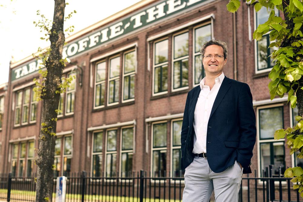 Frederic Larmuseau, CEO van Jacobs Douwe Egberts