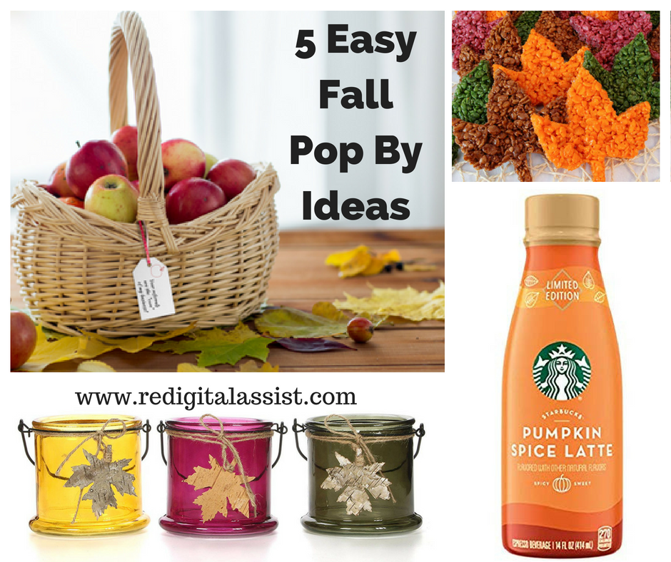 5 Easy Fall Pop By Ideas for Real Estate