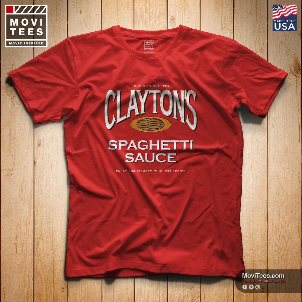 Clayton's Spaghetti-Sauce T-Shirt