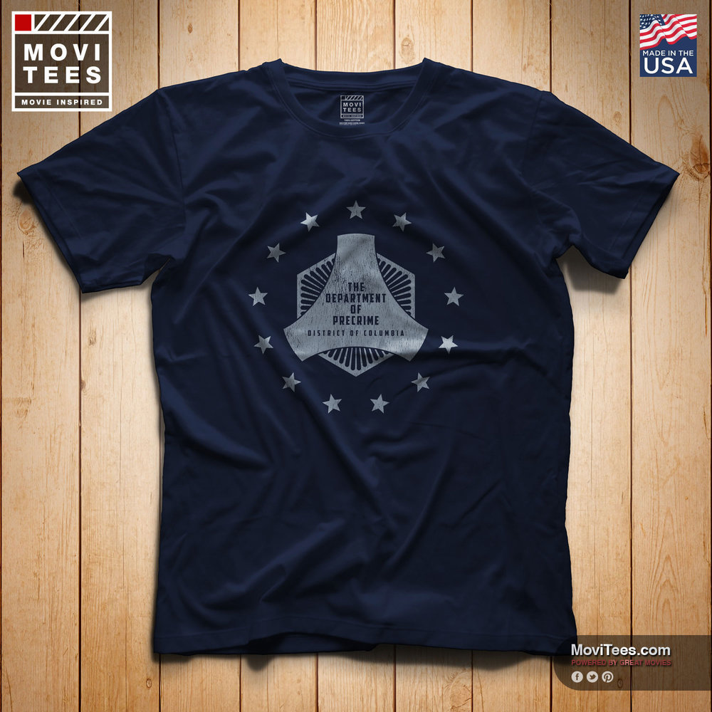 The Department of PreCrime T-Shirt