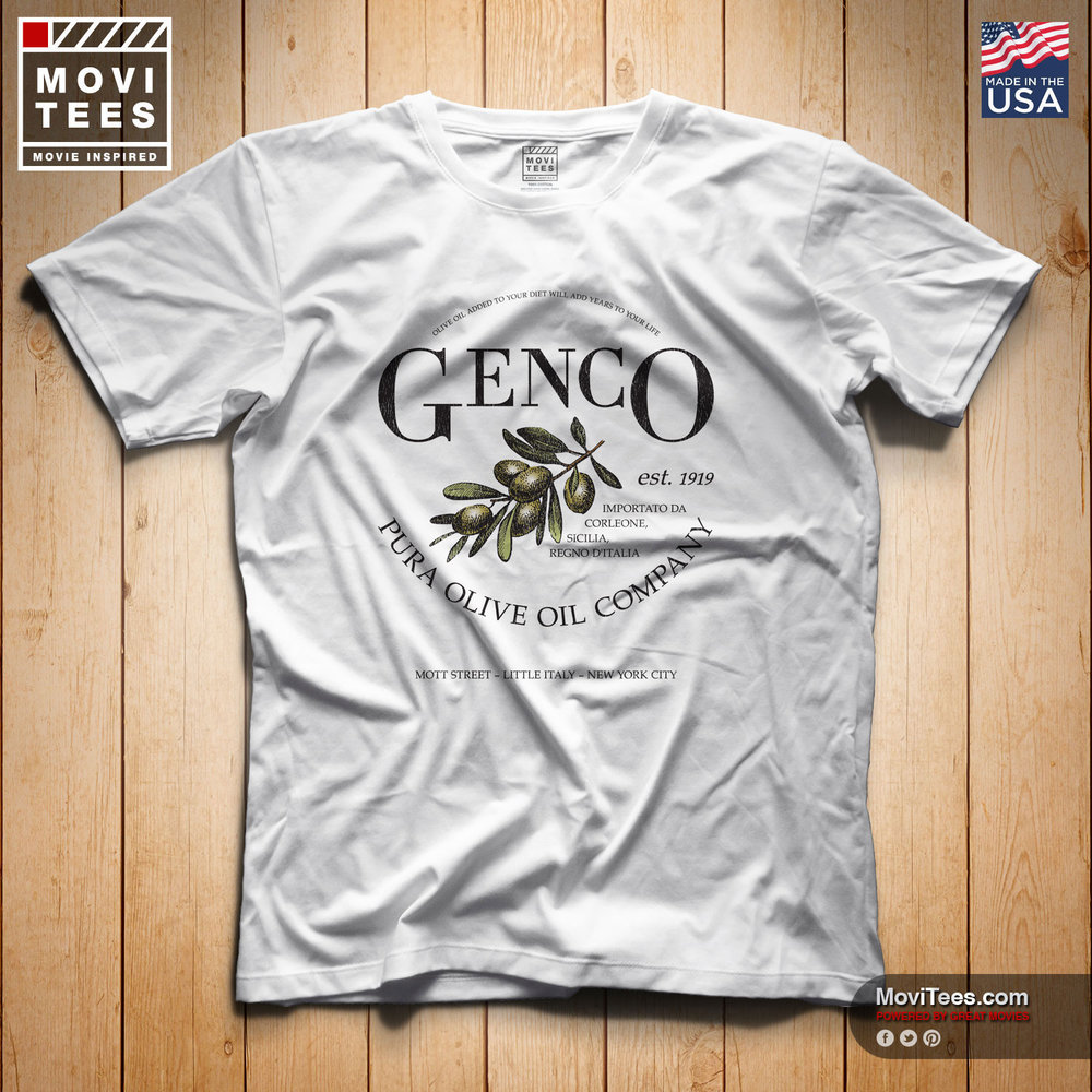 Genco Pura Olive Oil Co T-Shirt