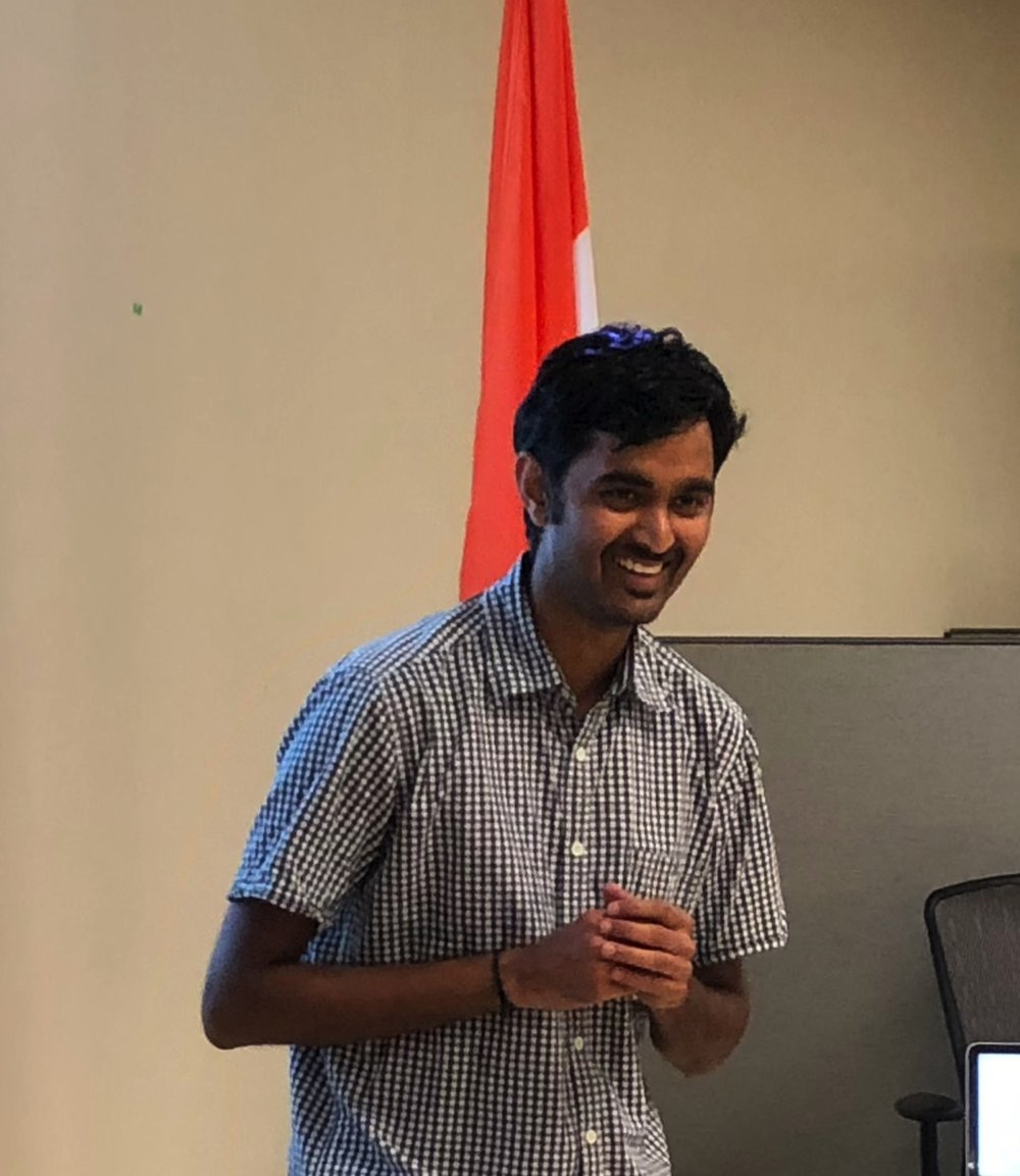 Prashant Bharadwaj - SSPB Graduate Student