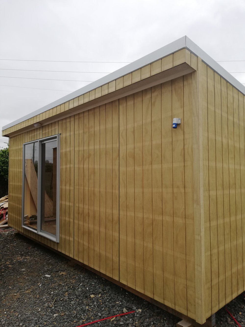 Deluxe Cabin$12999 incl GST - At 6m x 2.7m our deluxe cabin provides ample space for entertaining or great as a site office for your business.