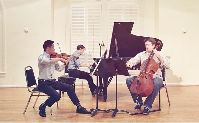 Performing Mendelssohn's Piano Trio in D Minor (Durham, NC, 2014)