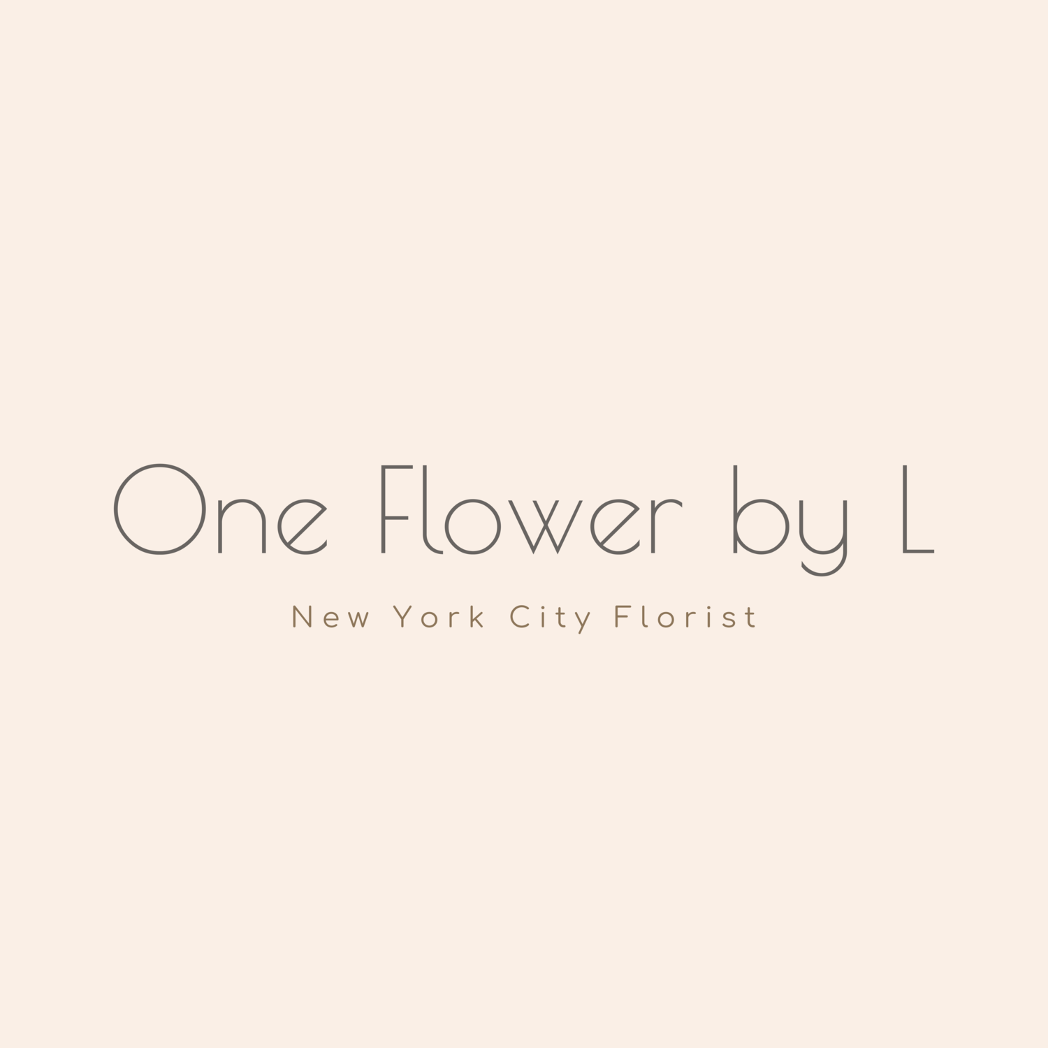 One flower by L