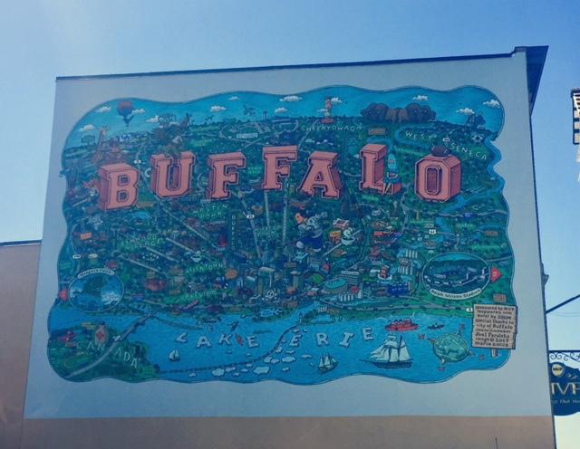 Best Instagram Murals in Buffalo, NY | Emily Malkowski | Travel & Lifestyle Blogger