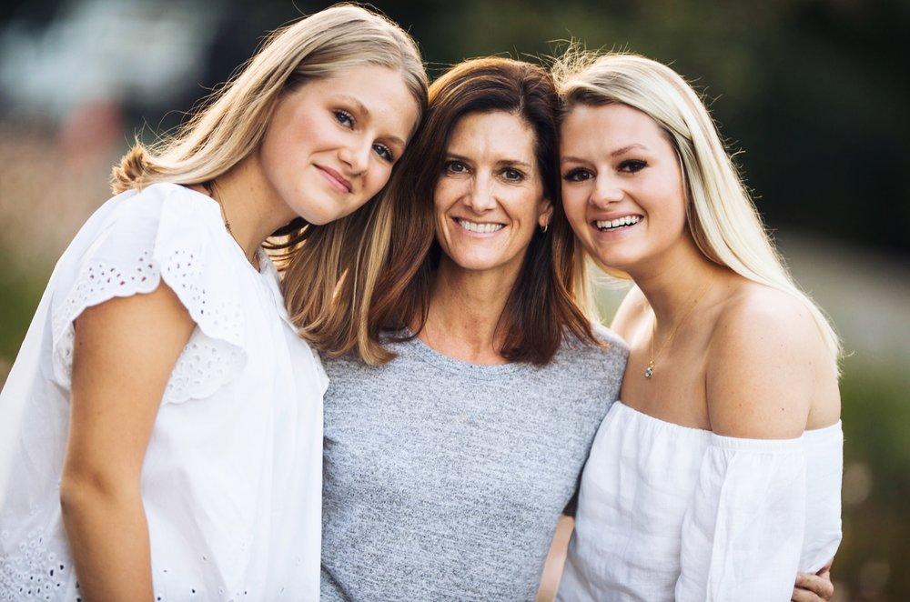Sarah, Julie, and Lauren