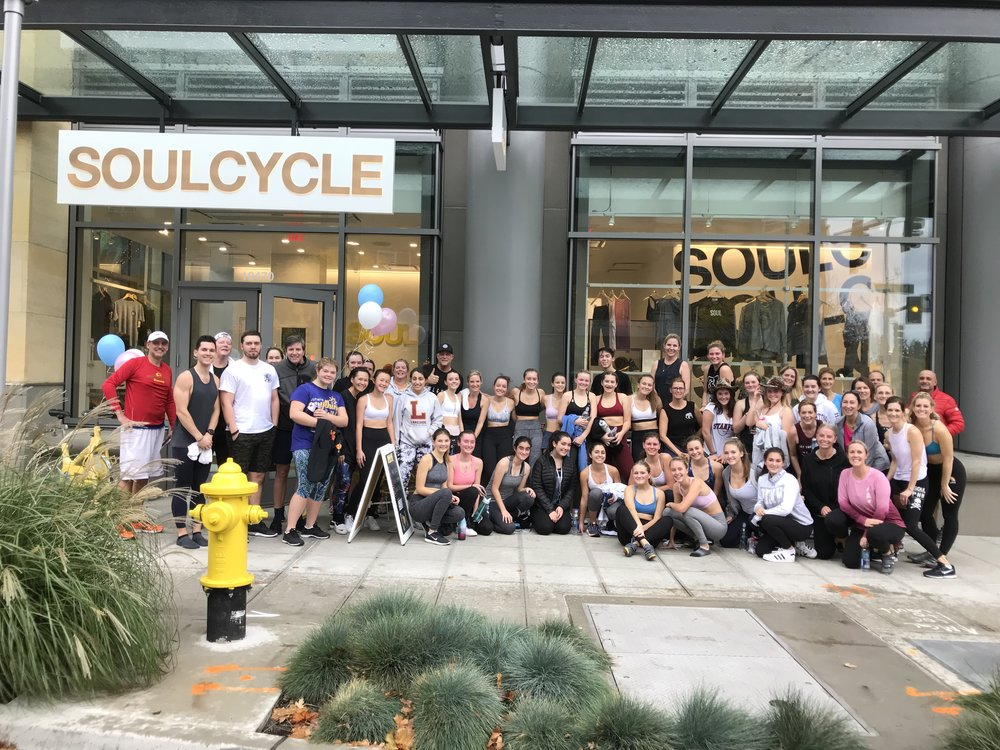 SoulCycle Charity Ride that raised over $12,000 for girls in Malawi