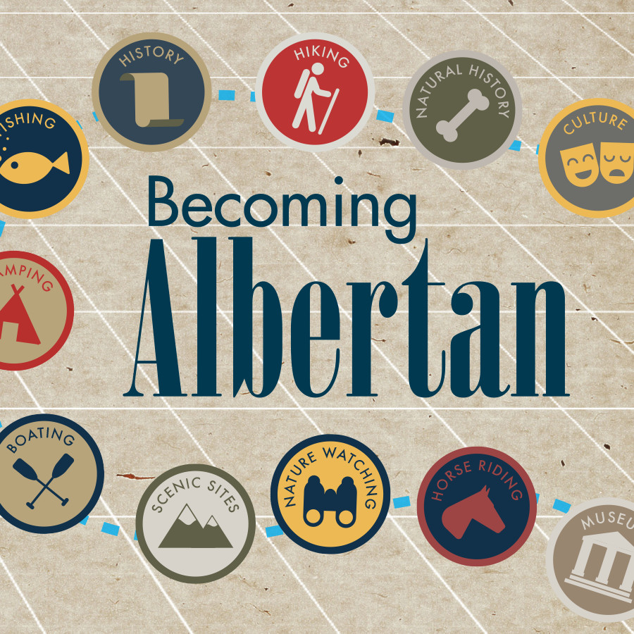 Becoming Albertan (2015)    Becoming Albertan  is a travel documentary, mobile-app, website and thirty-two three minute vignettes by filmmaker Brandy Yanchyk which focus on experiences new Canadians and immigrants can have when they come to Alberta.   Learn More