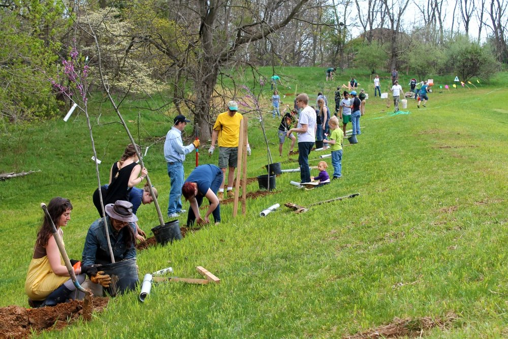 MERRI CREEK TREE DAY - Mother's Day Tree planting on 13th May with the Merri Creek Management Committee