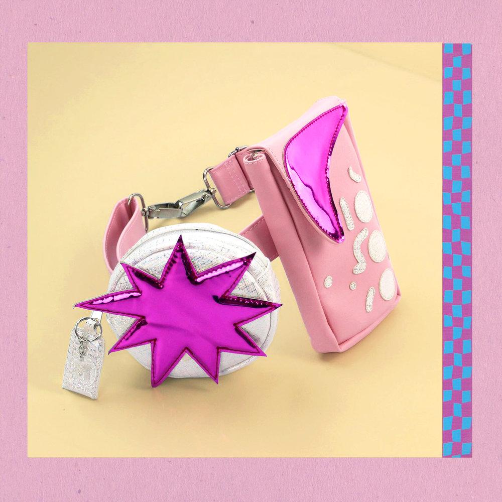 Pink two piece bumbag - Shop