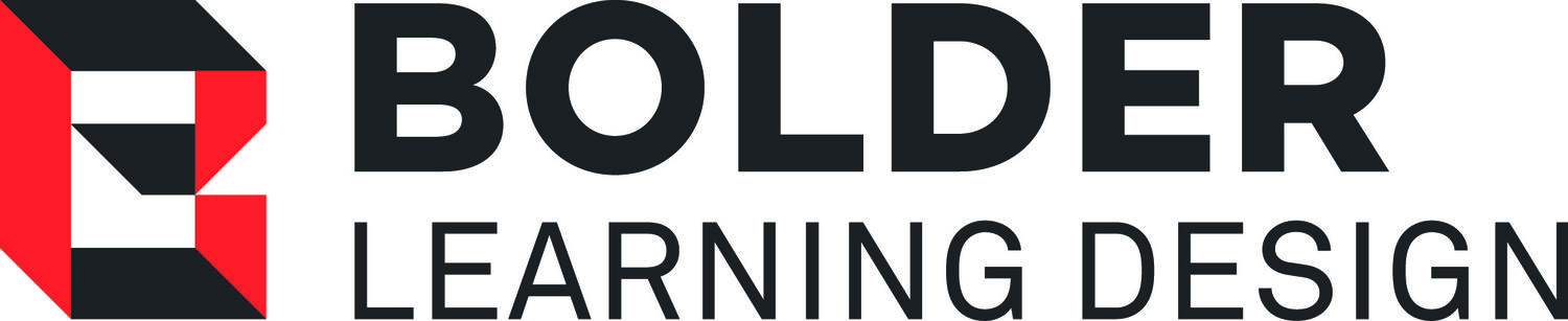 Bolder Learning Design