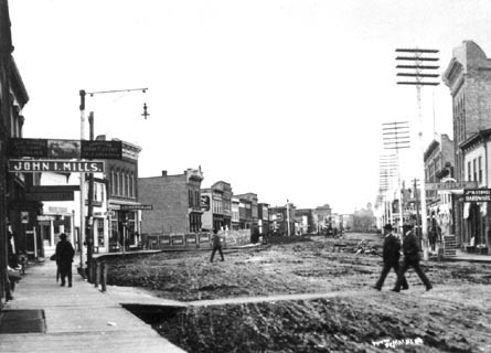 Jasper Avenue Looking West, 1903 ea-10-179