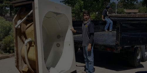 Hot Tub Removal And Recycling - Junk Movers