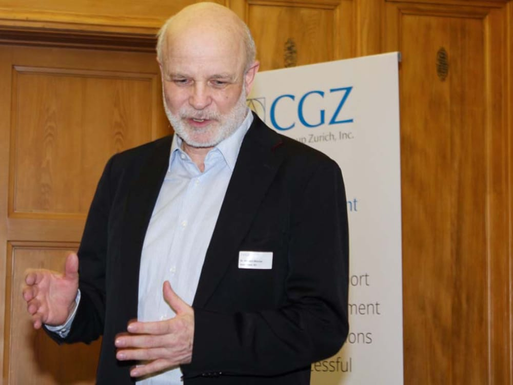 "Dr. Herbert Wanner am CGZ Forum ""Internet of Things"""