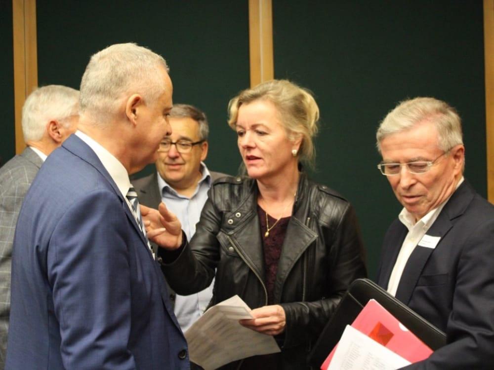 """Eindruck vom CGZ Forum """"Die Schweiz verkaufen"""""""
