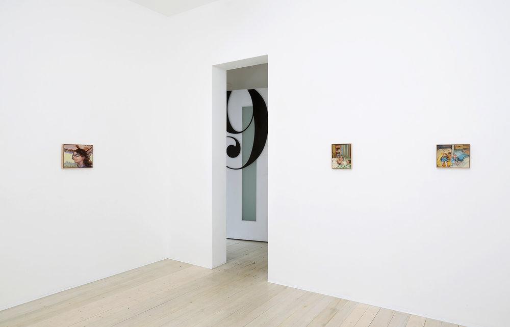 Movements, Installation view, Gallery 9, 2017. Photograph courtesy of Fatografi