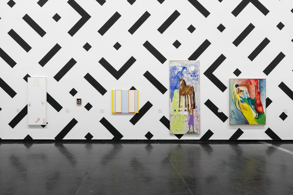 Rearview  in 'Painting. More Painting', Installation view, Australian Centre for Contemporary Art, 2016. Photograph courtesy of ACCA.