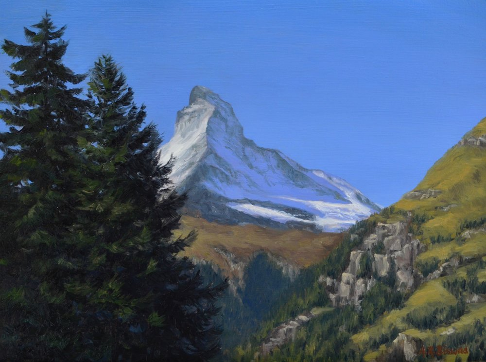 Matterhorn and the towering pines